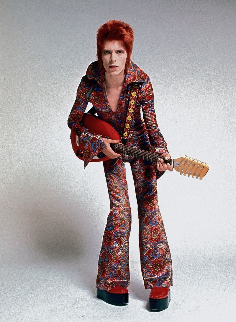 David Bowie Ziggy Stardust Tour David Bowie as Ziggy Stardust