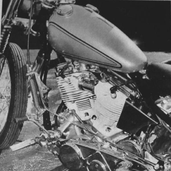 GRABOWSKI HARLEY H-D PANHEAD MOTORCYCLE