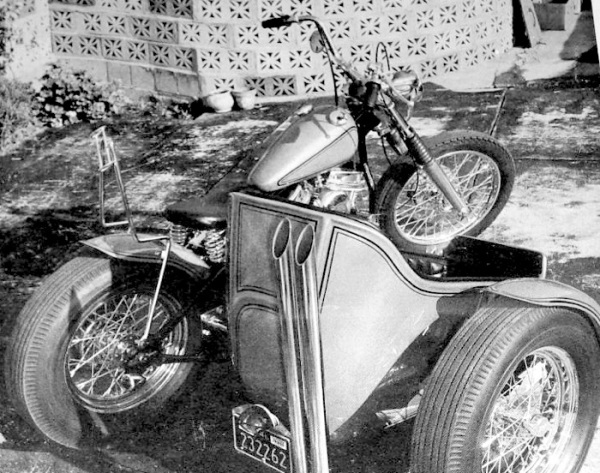 norm grabowski harley panhead sidecar