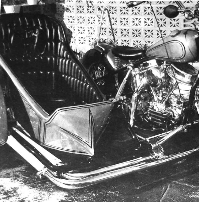 Norm Grabowski panhead harley motorcycle