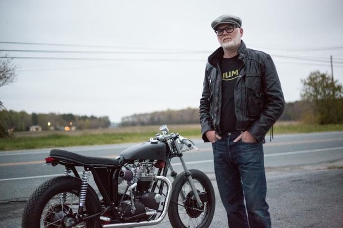 JP TSY TRAMP TRIUMPH MOTORCYCLE