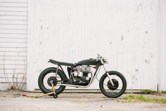 TSY TRAMP TRIUMPH MOTORCYCLE PHOTO
