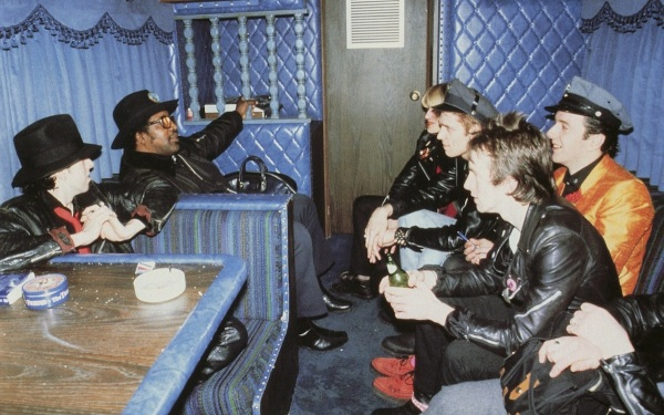 Bo Diddley The Clash tour photograph