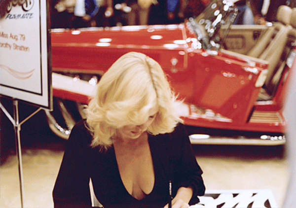 dorothy stratten cleavage