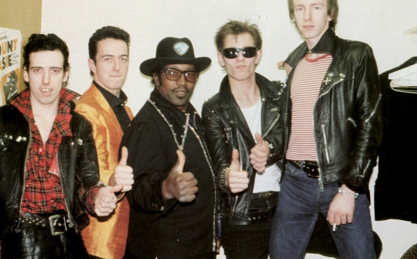 the clash bo diddley tour photo