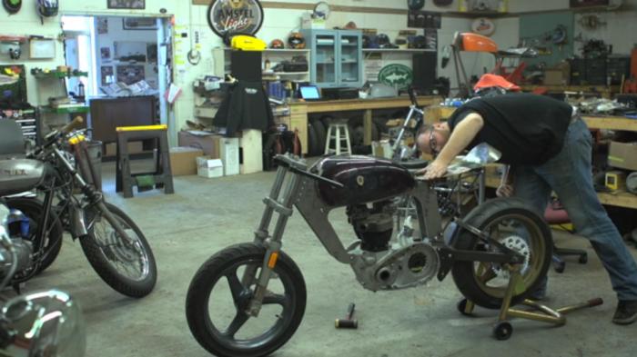 kevin dunworth bucephalus motorcycle loaded gun customs