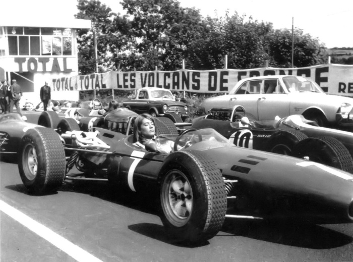 Françoise-Hardy-F1-Car