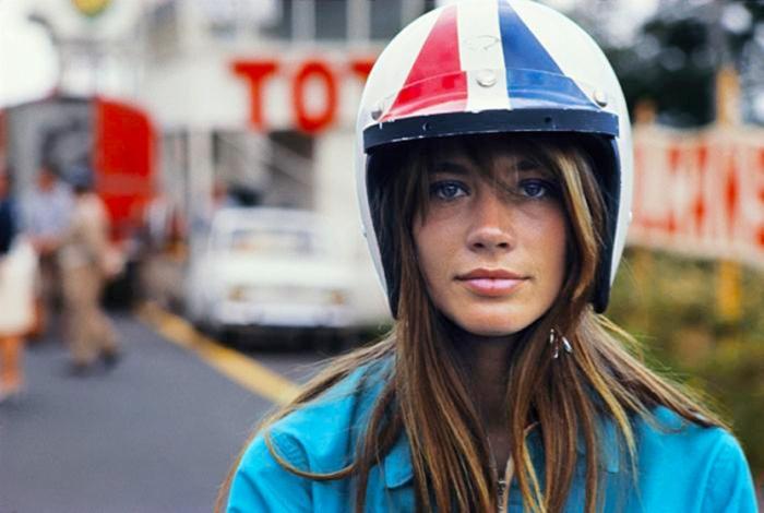 francoise hardy grand prix helmet
