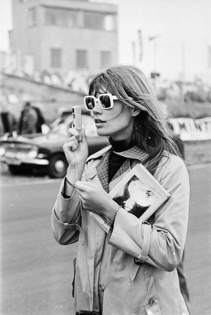 francoise hardy sunglasses camera