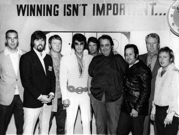 elvis presley memphis mafia photo