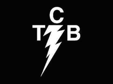 """Sticker//Decal Taking Careof Business 5.2/"""" Elvis Famous TCB"""