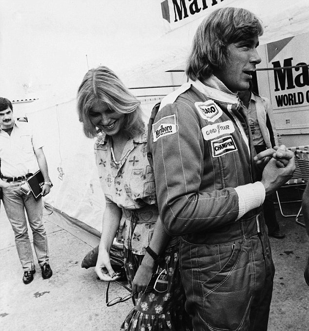 james hunt wife rush