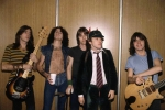 ACDC band Angus Young Bon Scott