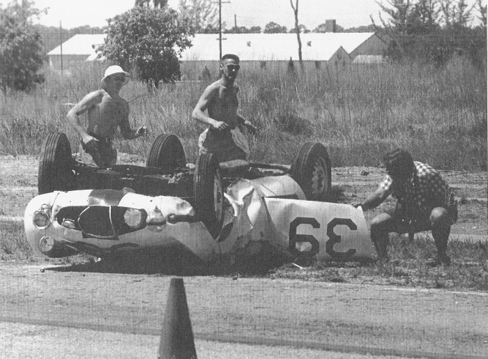bob goldrich fatal crash sebring 1957