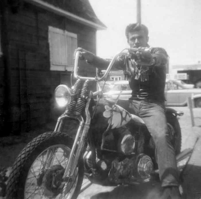 Dick Dale Harley motorcycle
