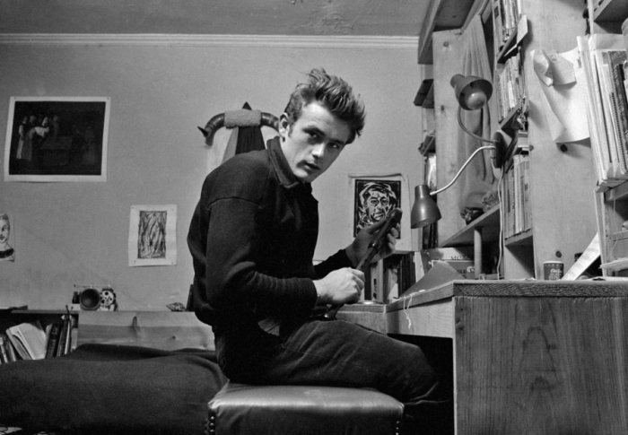 james dean nyc apartment dennis stock