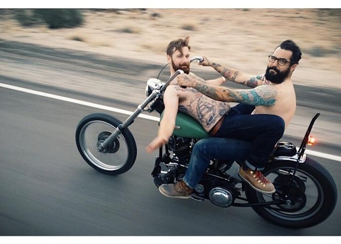 scott toepfer hooligan hoedown bros on bikes