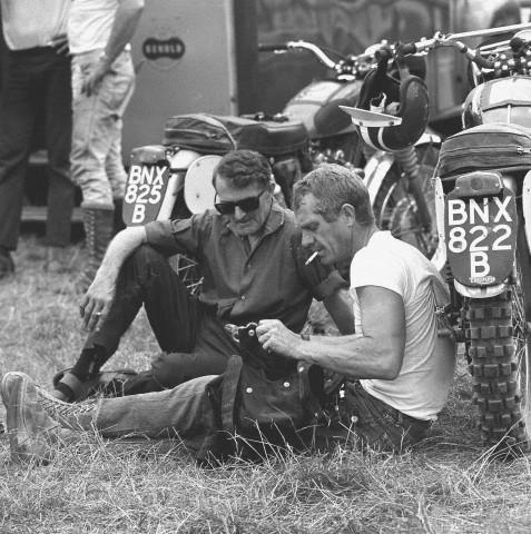 Steve Mcqueen Motorcycle For Sale