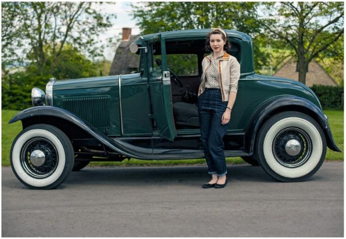 horst friedrichs photo scarlett 1930 Ford Model A