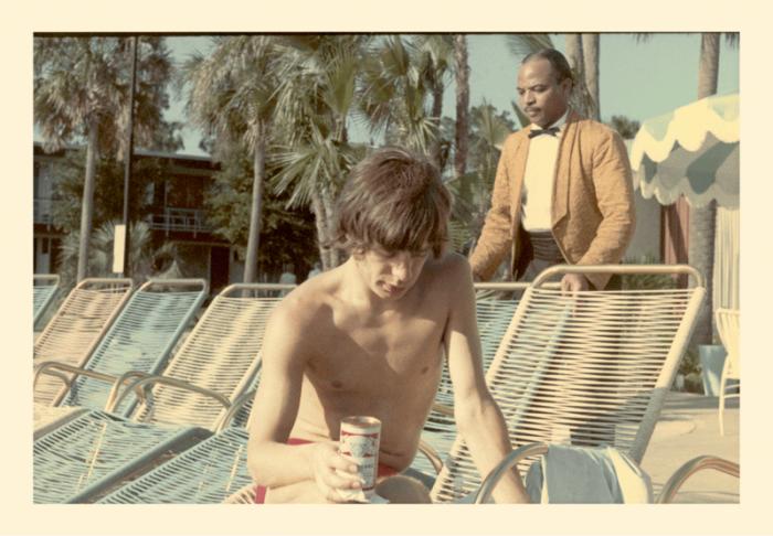 Mick Jagger 1965 budweiser