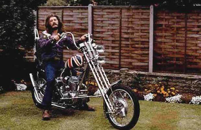 john bonham led zeppelin motorcycle chopper