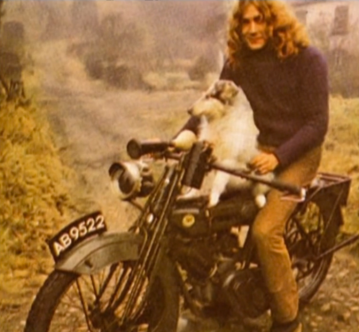 robert plant led zeppelin merle strider motorcycle