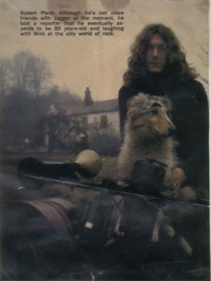 Robert Plant S Pooch Amp Tolkien The Inspiration Behind