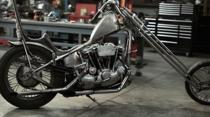 Josh Kurpius Harley-Davidson chopper