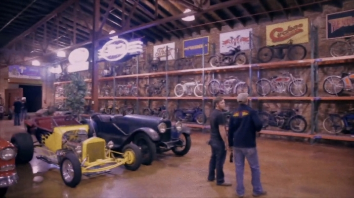 lucky riders film american pickers dan auerbach