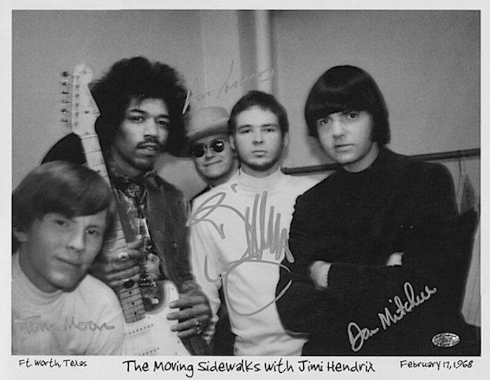 moving sidewalks billy gibbons jimi hendrix