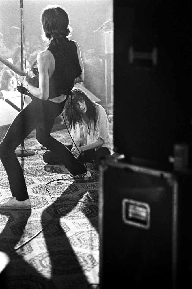 Patti Smith Scott Newton Photography