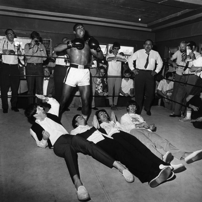 cassius clay ali the beatles