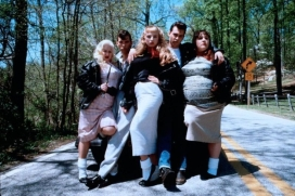 CRY BABY JOHNNY DEPP CAST PHOTO