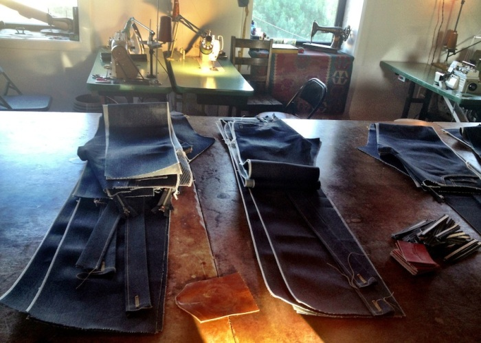 Norman Porter denim selvage selvedge jeans philadelphia