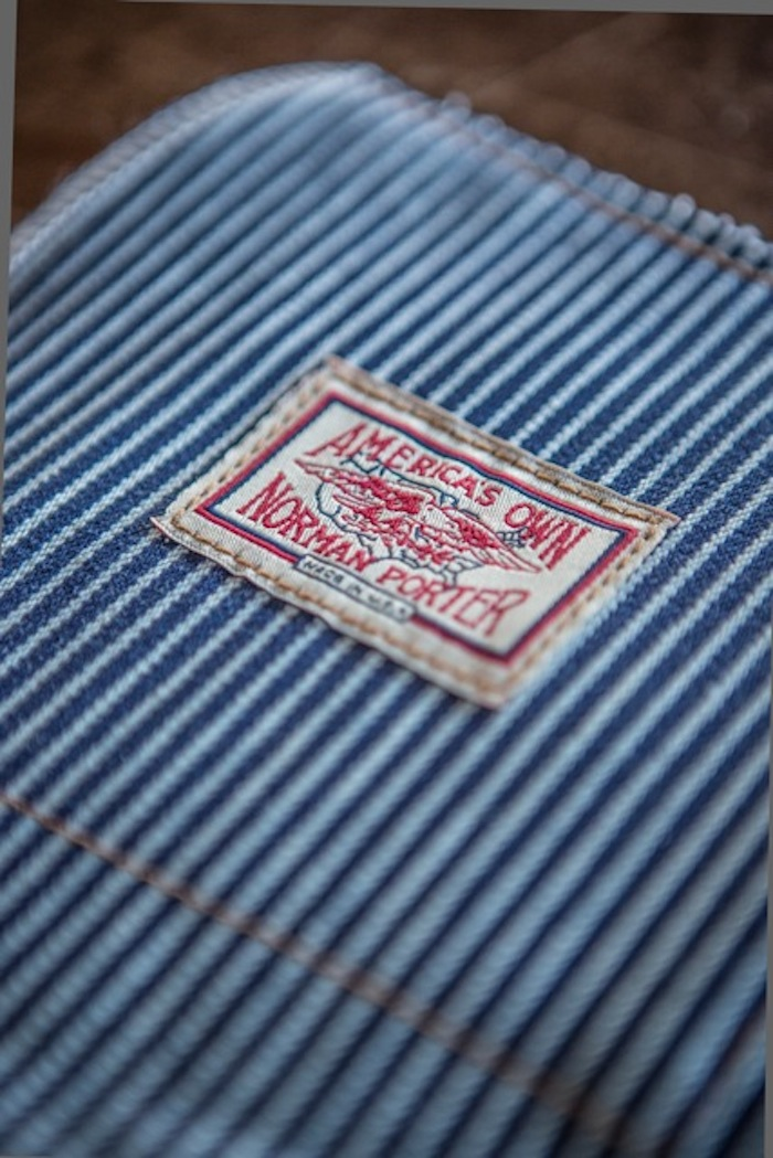 Norman Porter HICKORY STRIPE JEANS
