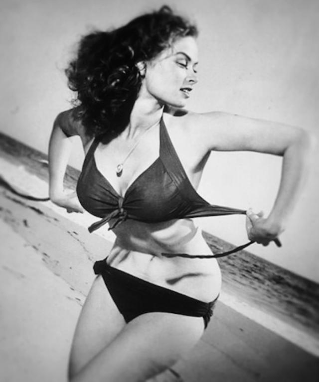 irish mccalla bikini topless breasts