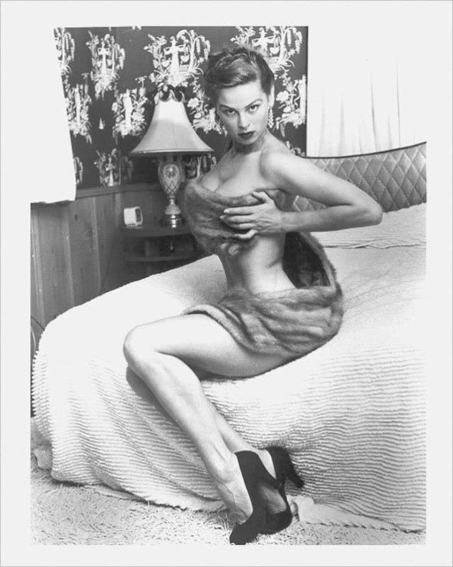 irish mccalla naked breasts pinup