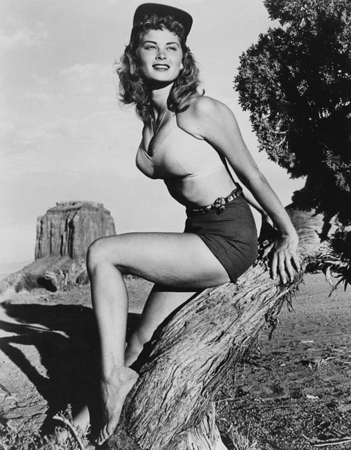 Irish McCalla pinup