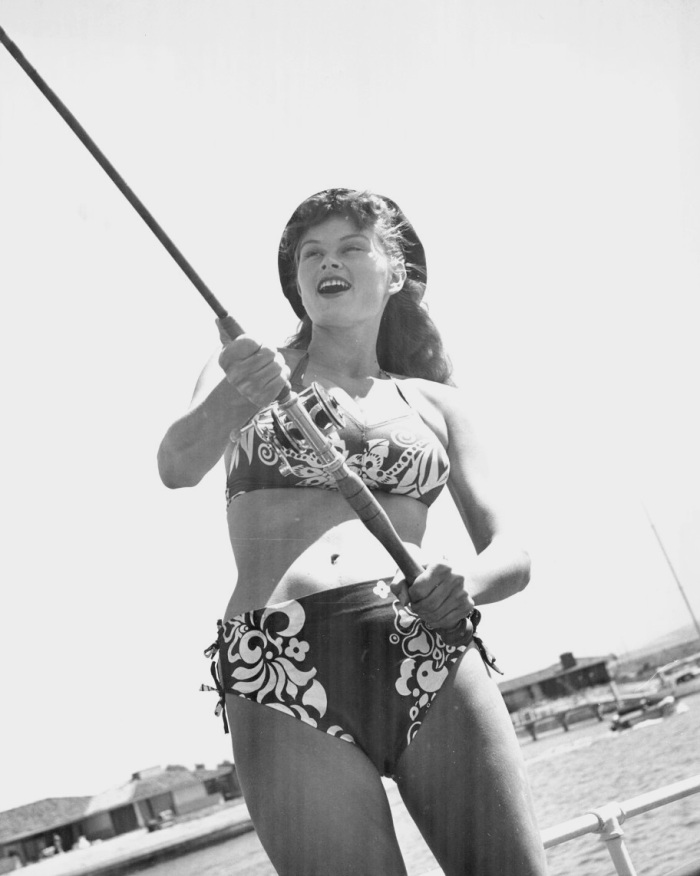 irish mccalla swimsuit bikini pinup fishing