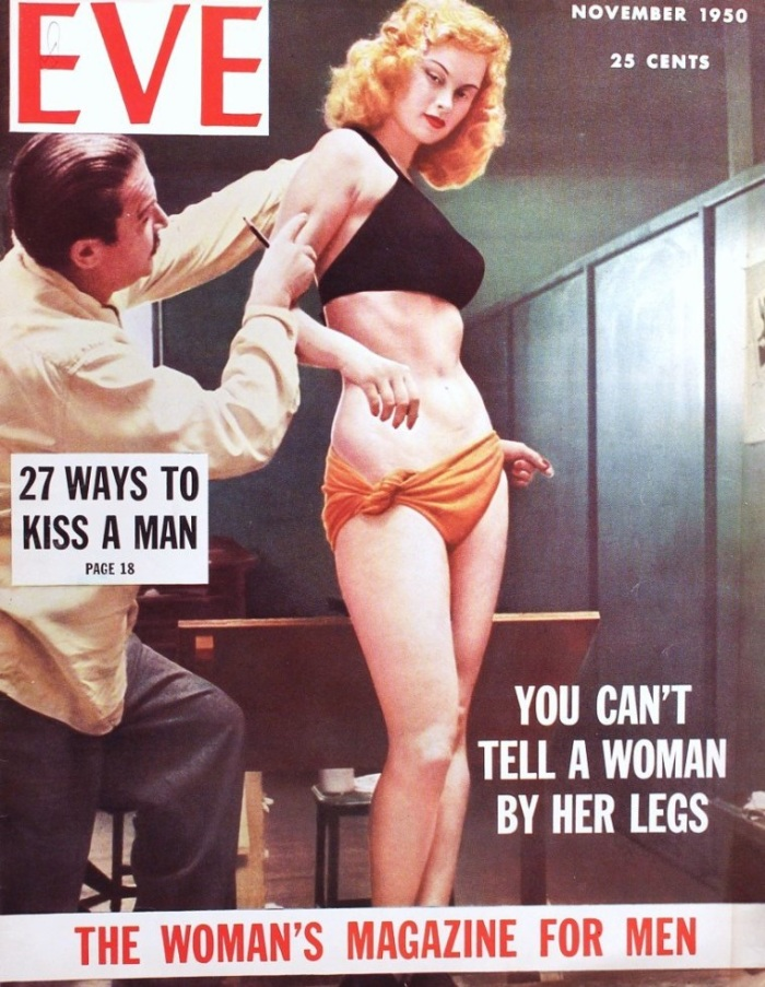 VARGAS PINUP MODEL IRISH MCCALLA EVE MAGAZINE COVER