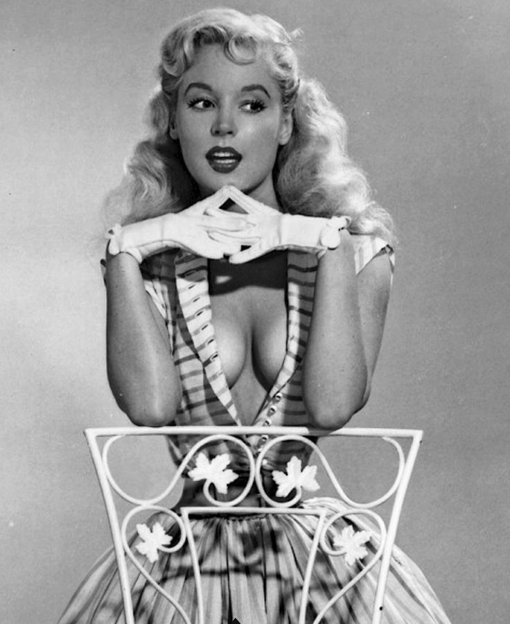 betty brosmer breasts cleavage