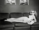 BETTY BROSMER PINUP COUCH