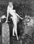 betty brosmer swimsuit tractor