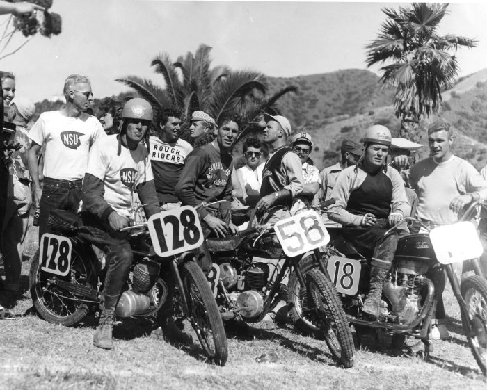 catalina gp motorcycle race 1953 finish