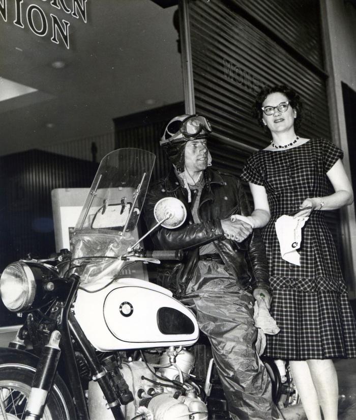John Penton_June 10 1959_Trascontinental record