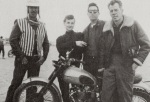 LEE MARVIN KEENAN WYNN TRIUMPH MOTORCYCLE