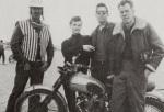 LEE MARVIN KEENAN WYNN TRIUMPH MOTORCYCLE
