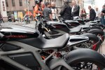 TSY THE SELVEDGE YARD HARLEY-DAVIDSON LIVE WIRE MOTORCYCLE ELECTRIC BIKES NYC