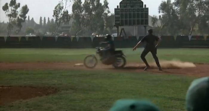 bad news bears motorcycle kid