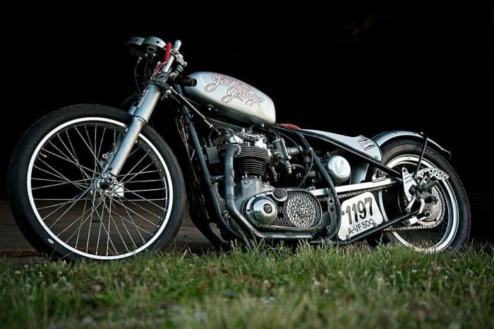 BSA Greasy Gringo motorcycle 13